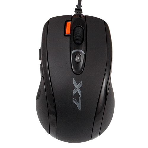 Мышь A4Tech X-710MK Black USB - купить в интернет-магазине Анклав