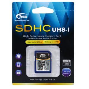 SDHC  32GB UHS-1 Class 10 Team (TSDHC32GUHS01) - купить в интернет-магазине Анклав