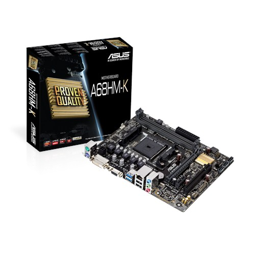 Asus A68HM-K Socket FM2+ - купить в интернет-магазине Анклав