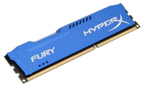 Модуль пам`ятi DDR3 4GB/1866 Kingston HyperX Fury Blue (HX318C10F/4) - купить в интернет-магазине Анклав