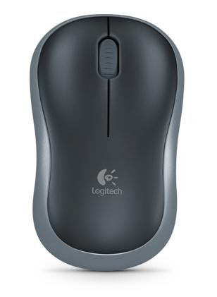 Мышь беспроводная Logitech M185 (910-002238) Grey USB - купить в интернет-магазине Анклав