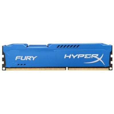 DDR3 8GB/1600 Kingston HyperX Fury Blue (HX316C10F/8) - купить в интернет-магазине Анклав