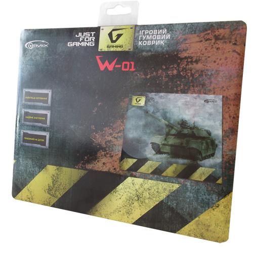Килимок для миші Gemix W-01 - купить в интернет-магазине Анклав