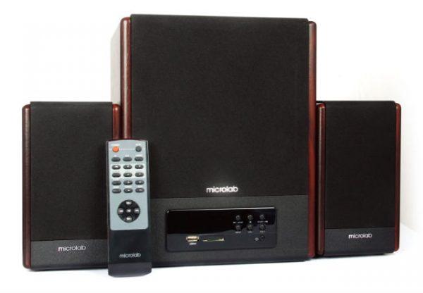 Акустическая система Microlab FC530U Wooden + ДУ - купить в интернет-магазине Анклав