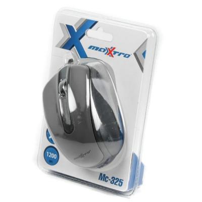 Мишка Maxxter Mc-325 Black USB - купить в интернет-магазине Анклав