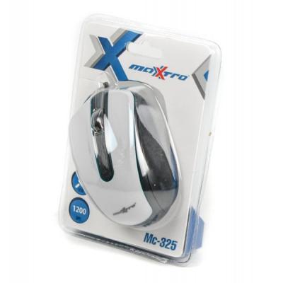 Мышь Maxxter Mc-325-W White USB - купить в интернет-магазине Анклав