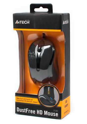 Мышь A4Tech N-360-1 grey USB V-Track - купить в интернет-магазине Анклав