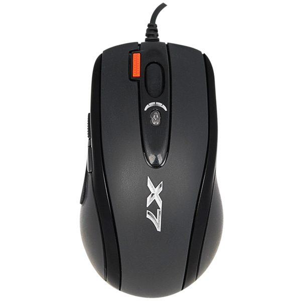 Мишка A4Tech X-718BK Black USB - купить в интернет-магазине Анклав