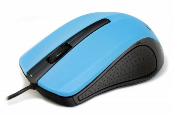 Мышь Gembird MUS-101-B синяя USB - купить в интернет-магазине Анклав