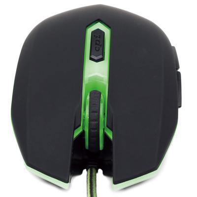 Мишка Gembird MUSG-001-G зелена USB - купить в интернет-магазине Анклав