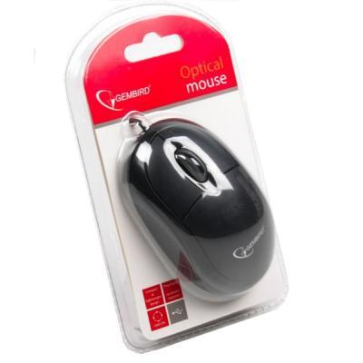 Мышь Gembird MUS-U-01 Black USB - купить в интернет-магазине Анклав