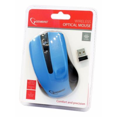 Мышь беспроводная Gembird MUSW-101-B синяя USB - купить в интернет-магазине Анклав