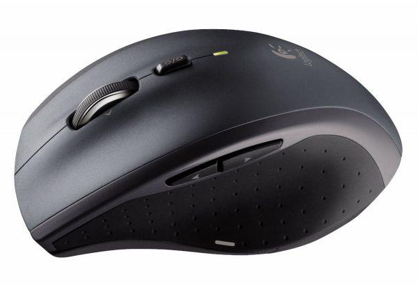 Мышь беспроводная Logitech M705 Marathon (910-001949) Black USB лазерная - купить в интернет-магазине Анклав