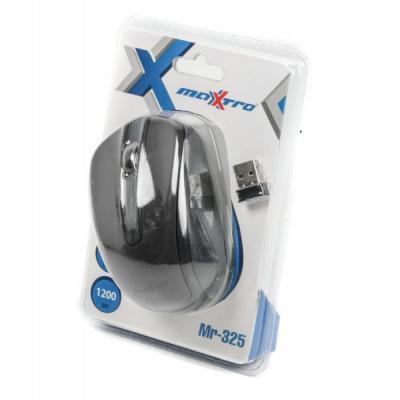 Мишка бездротова Maxxter Mr-325 Black USB - купить в интернет-магазине Анклав