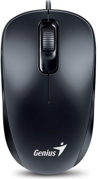 Мишка Genius DX-110 (31010116106) чорна PS/2 - купить в интернет-магазине Анклав