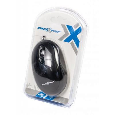 Мышь Maxxter Mc-107BK черная USB - купить в интернет-магазине Анклав