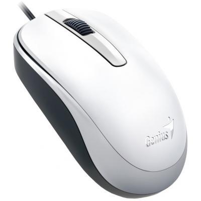 Миша Genius DX-120 (31010105102) біла USB - купить в интернет-магазине Анклав