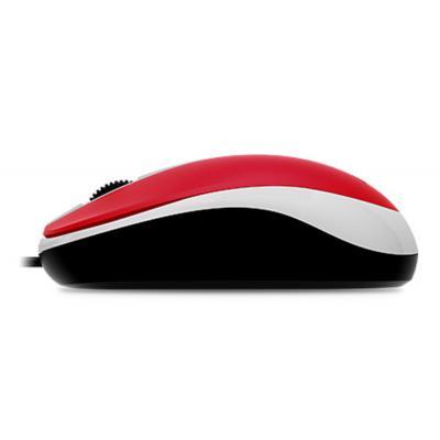 Миша Genius DX-120 (31010105104) red USB - купить в интернет-магазине Анклав