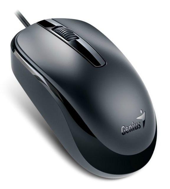 Миша Genius DX-120 (31010105100) чорна USB - купить в интернет-магазине Анклав