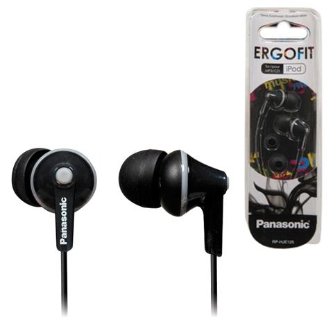 Навушники PANASONIC RP-HJE125E-K - купить в интернет-магазине Анклав