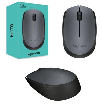 Мышь беспроводная Logitech M170 (910-004642) Grey/Black USB - купить в интернет-магазине Анклав