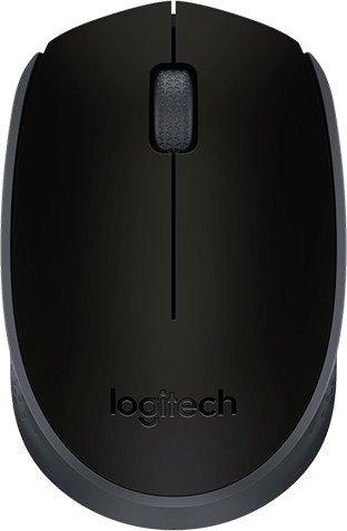 Мышь беспроводная Logitech M171 (910-004424) Grey/Black USB - купить в интернет-магазине Анклав