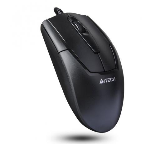 Мишка A4Tech N-301 Black USB V-Track - купить в интернет-магазине Анклав