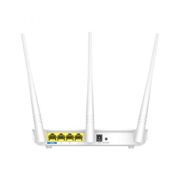 Бездротовий маршрутизатор Tenda F3 (N300, 1*Wan, 3*Lan, 3 антени по 5дБи) - купить в интернет-магазине Анклав