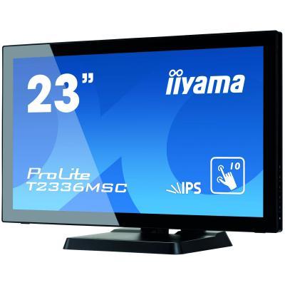 "Iiyama 23"" T2336MSC-B2 IPS Black Multitouch - купить в интернет-магазине Анклав"