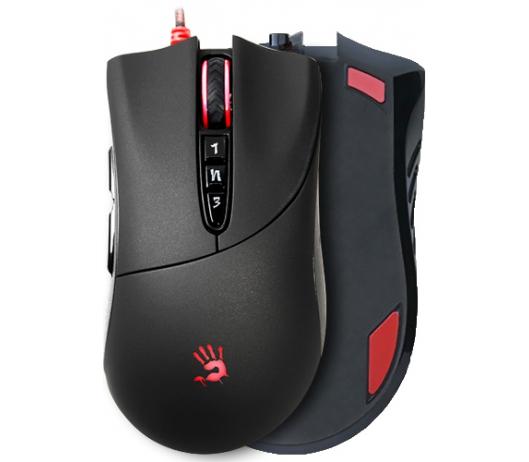 Мишка A4Tech V3MA Bloody Black USB - купить в интернет-магазине Анклав