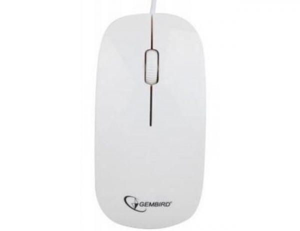 Мишка Gembird MUS-103-W  USB - купить в интернет-магазине Анклав