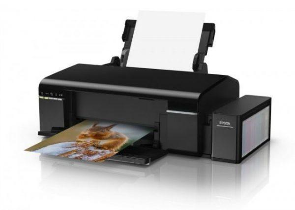Принтер А4 Epson L805 Фабрика печати с Wi-Fi C11CE86403 - купить в интернет-магазине Анклав