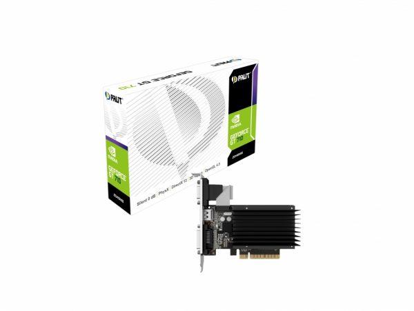 GF GT 710 2Gb DDR3 Palit (NEAT7100HD46-2080H) - купить в интернет-магазине Анклав