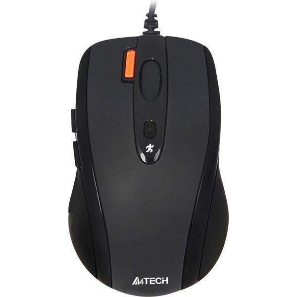 Мишка A4Tech N-70FX-1 чорна USB V-Track - купить в интернет-магазине Анклав