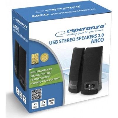 Акустическая система Esperanza 2.0 Arco Black (EP119) - купить в интернет-магазине Анклав