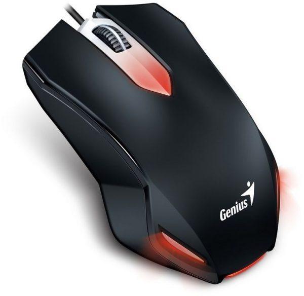 Мишка Genius X-G200 Black USB (31040034100) - купить в интернет-магазине Анклав