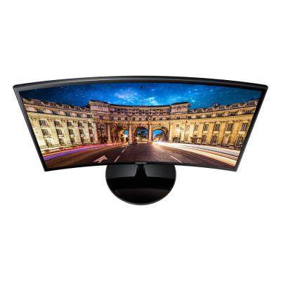 """Монiтор Samsung 23.5"""" C24F390F (LC24F390FHIXCI) VA Black Curved - купить в интернет-магазине Анклав"""