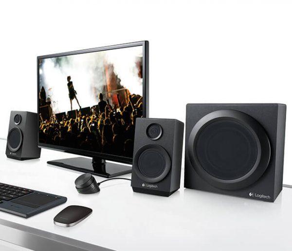 Акустична система Logitech Z333 Black (980-001202) - купить в интернет-магазине Анклав