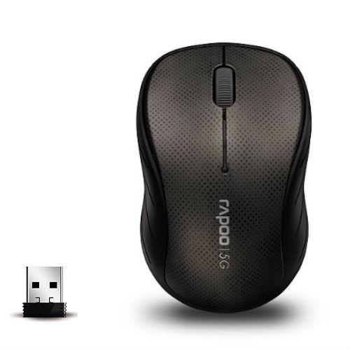 Мышь беспроводная RAPOO 3000p Gray USB - купить в интернет-магазине Анклав