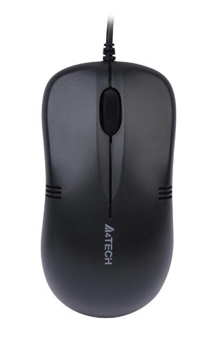 Мишка A4 OP-560NU Black USB V-Track - купить в интернет-магазине Анклав