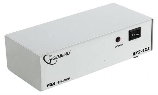 Видеосплиттер Cablexpert GVS122 1ПК - 2 монитора - купить в интернет-магазине Анклав