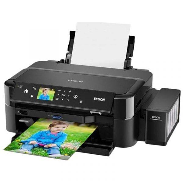 Принтер А4 Epson L810 Фабрика печати C11CE32402 - купить в интернет-магазине Анклав