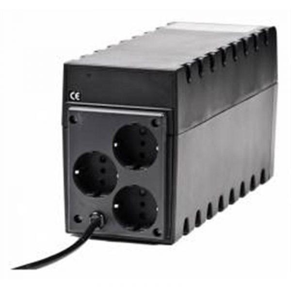 Джерело безперебійного живлення Powercom RPT-1000A, Lin.int., AVR, 3 x евро, пластик (00210191) - купить в интернет-магазине Анклав