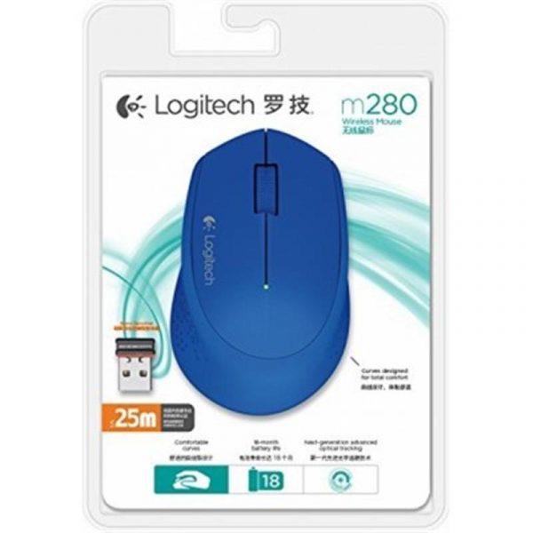 Мышь беспроводная Logitech M280 (910-004290) Blue USB - купить в интернет-магазине Анклав