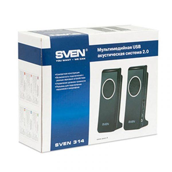 Акустична система Sven 314 Black USB - купить в интернет-магазине Анклав