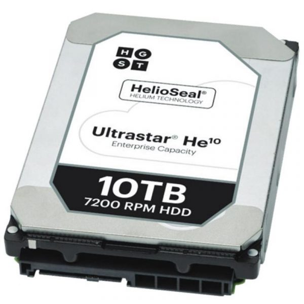 Накопичувач HDD SATA 10.0TB Hitachi (HGST) Ultrastar He10 7200rpm 256MB (HUH721010ALE604/0F27454) - купить в интернет-магазине Анклав
