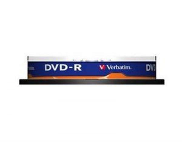 DVD-R Verbatim (43523) 4.7GB 16x Cake, 10шт - купить в интернет-магазине Анклав