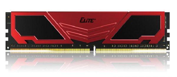 Модуль памяти DDR4 4GB/2400 Team Elite Plus Red (TPRD44G2400HC1601) - купить в интернет-магазине Анклав