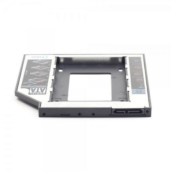 """Адаптер HDD 2,5"""" для ноутбука у відсік CD-ROM Gembird MF-95-02 (12.5 мм) - купить в интернет-магазине Анклав"""