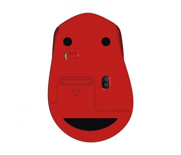 Мышь беспроводная Logitech M330 Silent Plus (910-004911) Red USB - купить в интернет-магазине Анклав